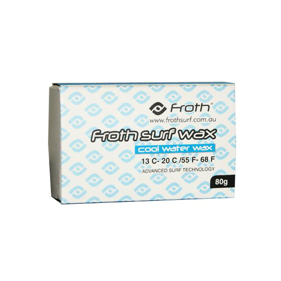Froth Surf Wax Cool Water Surfboard Wax