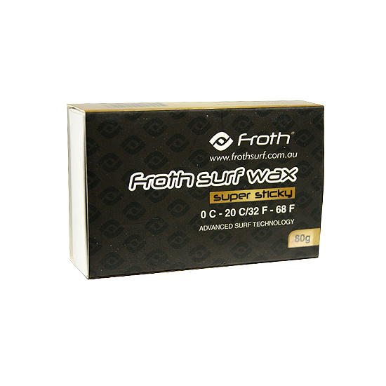 Froth Surf Wax Super Sticky Surfboard Wax